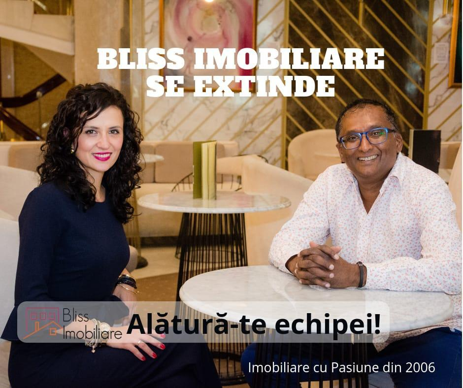 BLISS Imobiliare se extinde! Consultant Sales & Support