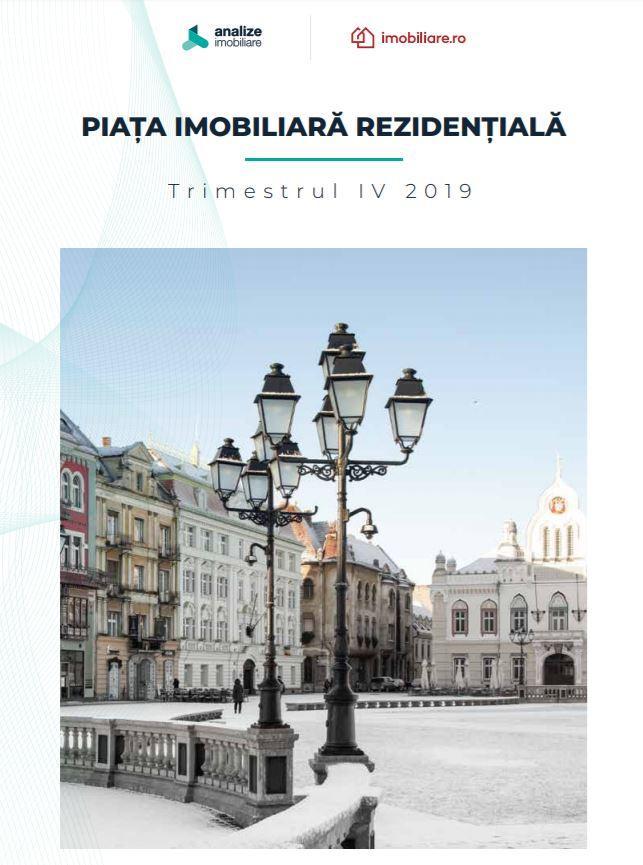Raportul pieţei imobiliare - rezidenţial - Trimestrul 4 - 2019