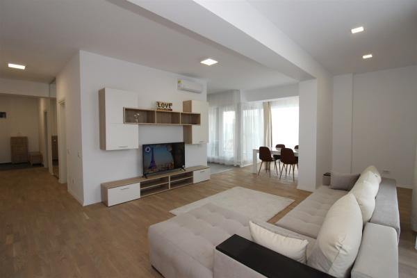 To rent Expat family looking for modern furnished 2 bedroom apartment in Herastrau Pipera metro area.