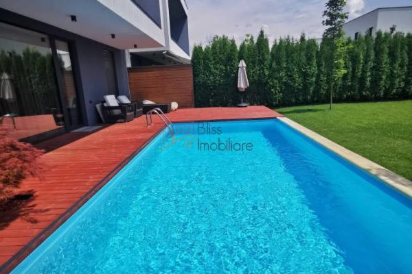 To rent Client looking for nice spacious villa with swimming pool in a residential complex Baneasa Pipera